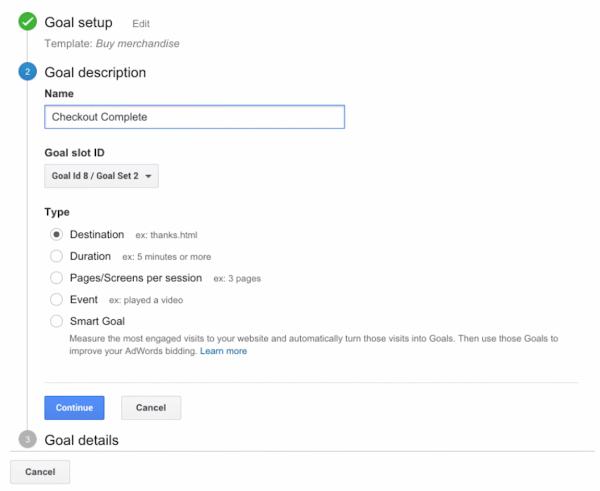 آموزش تنظیم goals در گوگل آنالیتیکس