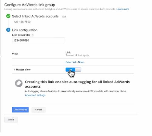 آموزش لینک کردن گوگل آنالیتیکس به گوگل ادز