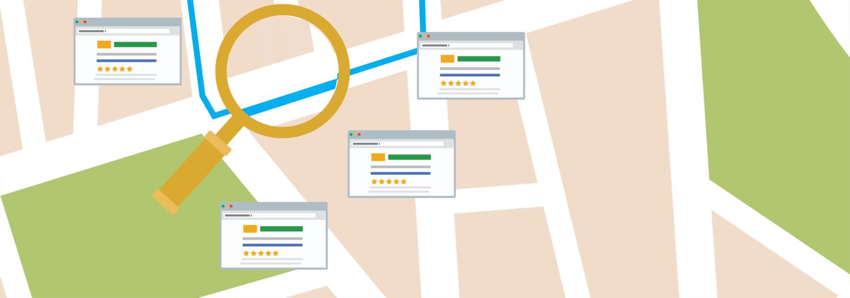 نمایش پروفایل کسبوکار در جستجو و نقشه گول